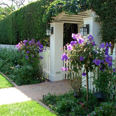 Traditional Entry by katie moss landscape design