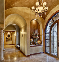 traditional entry by Bella Villa Design Studio
