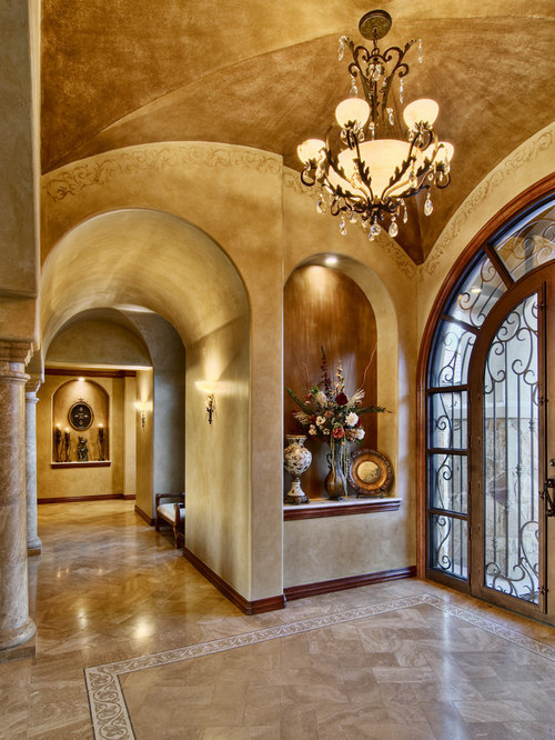 Niche In Foyer Houzz