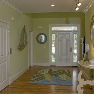 Entryway - eclectic entryway idea in Raleigh