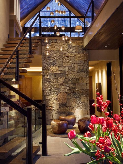 Open Foyer Loft : Foyer loft houzz