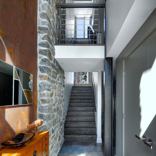 Kohn Residence Entry Hall and Stair Tower