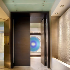 Contemporary Entry by Pepe Calderin Design- Modern Interior Design