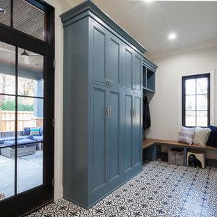 L Shape Mudroom Locker Cabinet in Chicago, Illinois