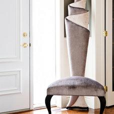 Contemporary Entry by Un Fauteuil Pour Deux