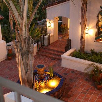 La Habra Heights Spanish Revival Custom Home