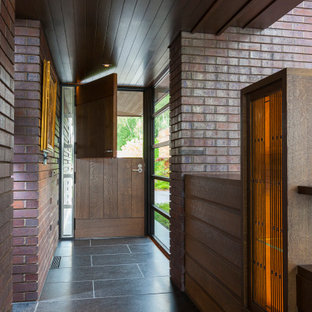 Lac La Belle - Modern Brick Lake Home Dutch Door