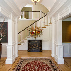 Traditional Entry by Nan Walz Interiors
