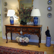 Traditional Entry by Kathleen Burke Design