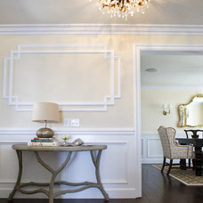 Traditional Entry by Janelle Steinberg Interior Design