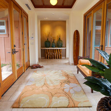 Tropical Entry by Island Essence Interiors