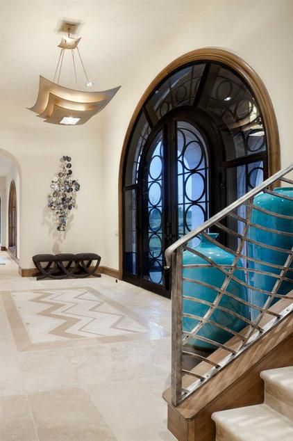 Contemporary Entry by JAUREGUI Architecture Interiors Construction