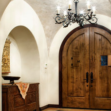 Mediterranean Entry by JAUREGUI Architecture Interiors Construction