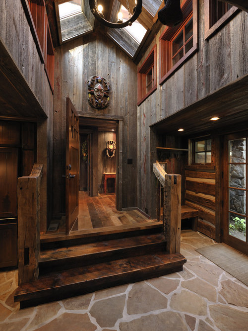 Roughing In A Country Cabin : Enclosed entry home design ideas pictures remodel and decor