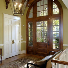 Traditional Entry by Lake Country Builders