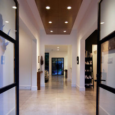 Contemporary Entry by Covington Builders