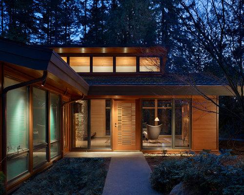 Haustür mit Terrazzo-Boden Ideen, Design & Bilder | Houzz
