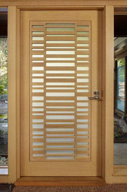 midcentury entry by FINNE Architects