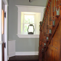 traditional entry by Adirondack Carpentry LLC