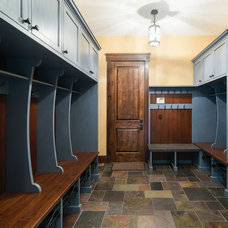 Farmhouse Entry by Steven Cabinets