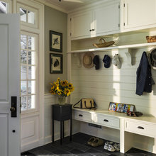 OUR NEW HOUSE - entry/mudroom