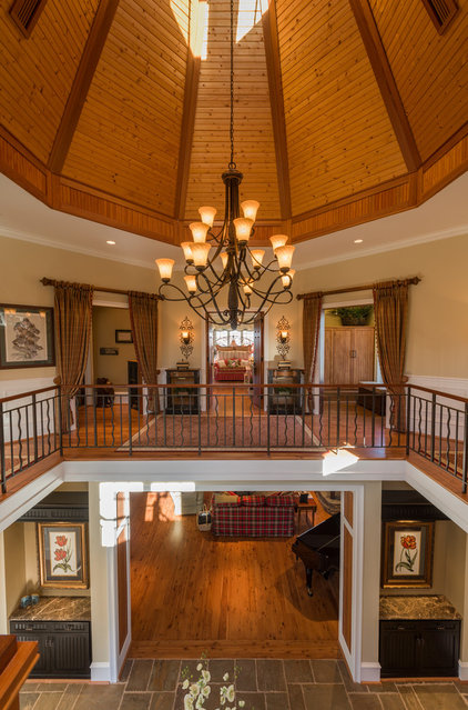 Eclectic Entry by Andrew Roby General Contractors