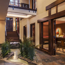 rustic entry by Deep River Partners