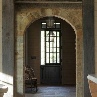Idee per un ingresso o corridoio stile rurale