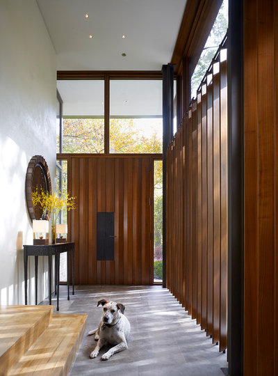 Contemporary Entry by Kadlec Architecture + Design