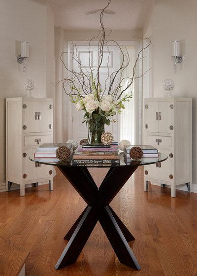 Contemporary Entry by Adelene Keeler Smith Interior Design