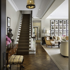 traditional entry by Rugo/ Raff Ltd. Architects