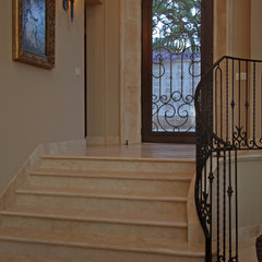 mediterranean entry by Landmark Builders