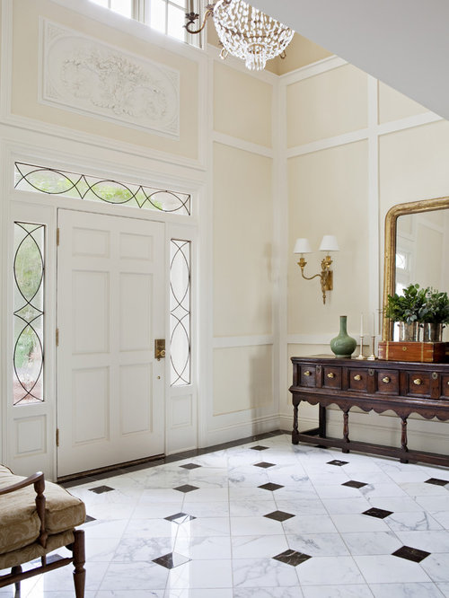 Marble Entry Houzz