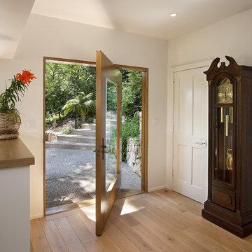 Las Canoas Remodel Center Pivot Door