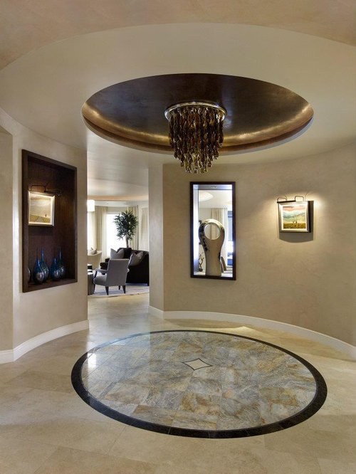 Contemporary foyer home design ideas pictures remodel for Contemporary foyer ideas