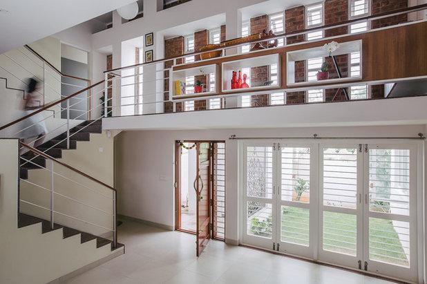 Contemporary Entry by Gaurav Roy Choudhury Architects