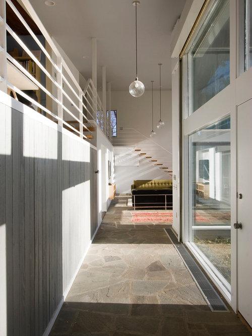 Wood strip siding houzz - Maison rogers sturz michael lee architects ...