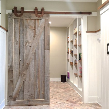 Laundry and Pantry Barn Door
