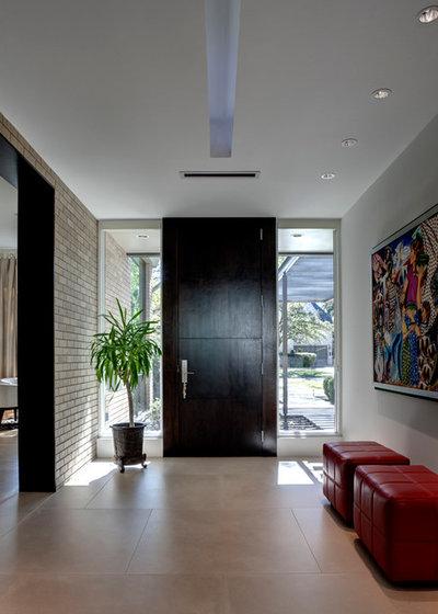 Contemporain Entrée by Domiteaux Architects