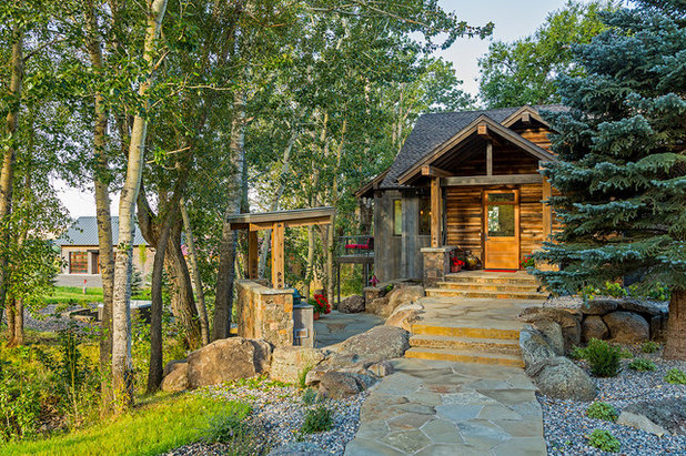Rustic Entry by Dovetail Construction