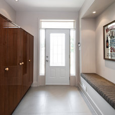 Contemporary Entry by Design First Interiors