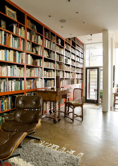 Contemporary Home Library Design: Beautiful Modern Home Libraries