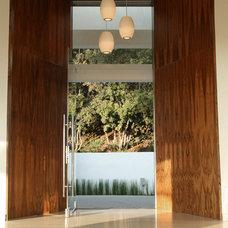 Modern Entry by Sylvia Elizondo Interior Design