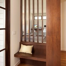 Modern Entry by Andrea Swan - Swan Architecture