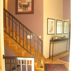 Eclectic Entry by Butwinick Interiors LLC
