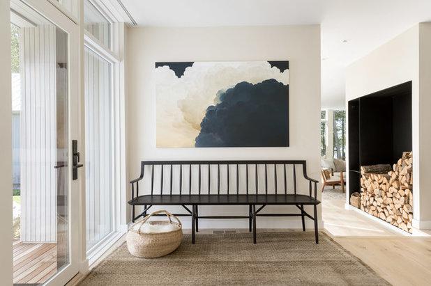 Contemporary Entry by Davis Scott Studio