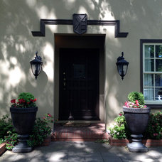 Traditional Entry by Chris Merenda-Axtell Interior Design