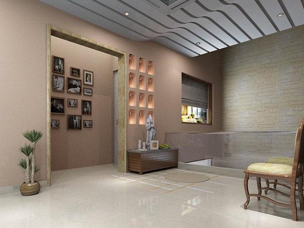 Modern Entry by Ar. Sandeep Jain