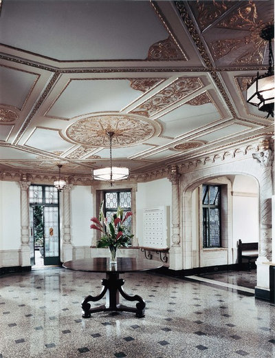 Traditional Entry by Francoise Bollack Architects