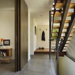 modern entry by chadbourne + doss architects